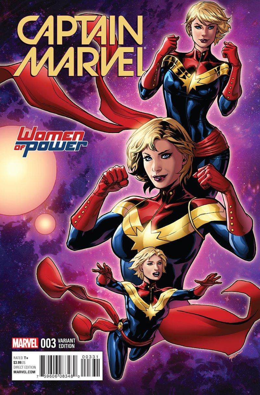 Captain Marvel #3 Cover 3