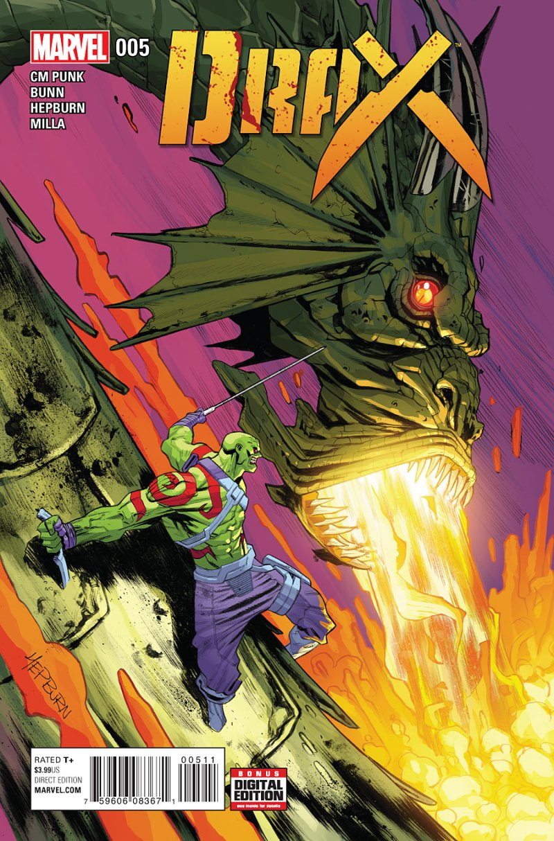 Drax #5 Cover