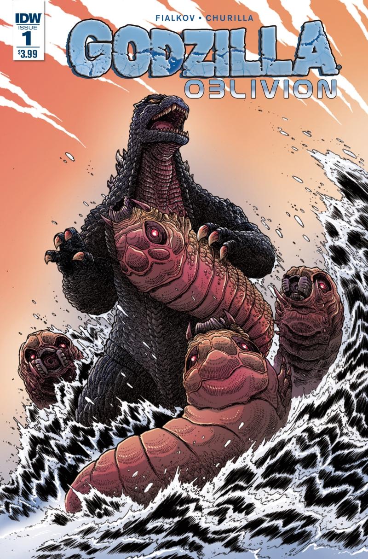 Godzilla Oblivion #1 Cover 2