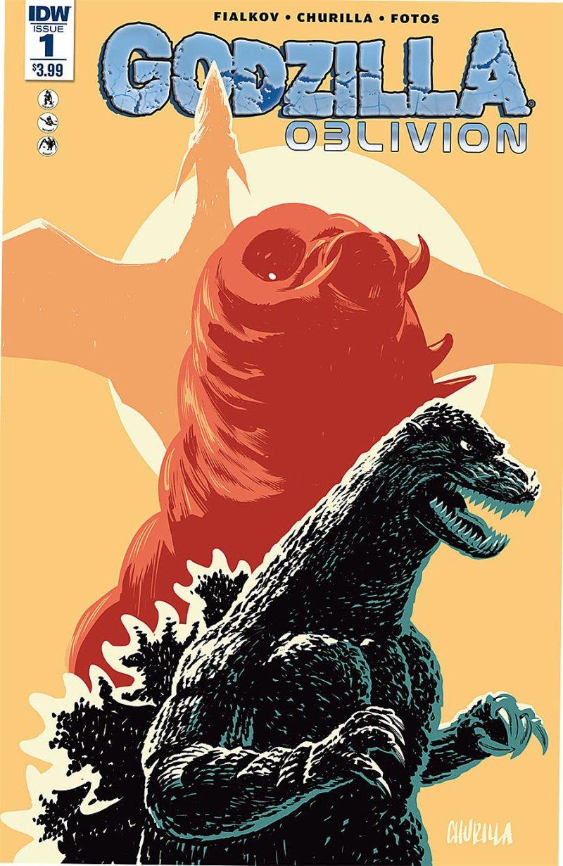 Godzilla Oblivion #1 Cover