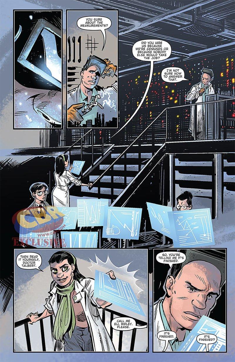 Godzilla Oblivion #1 Page 2