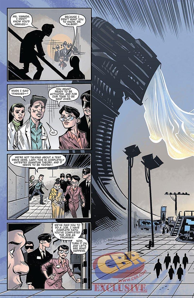 Godzilla Oblivion #1 Page 3
