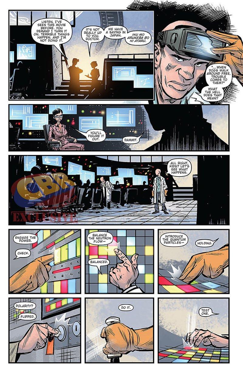 Godzilla Oblivion #1 Page 5