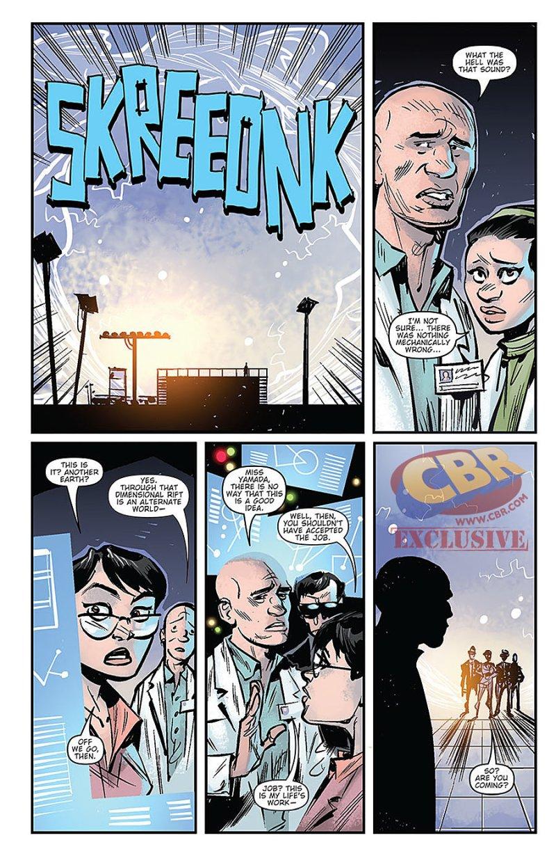 Godzilla Oblivion #1 Page 6