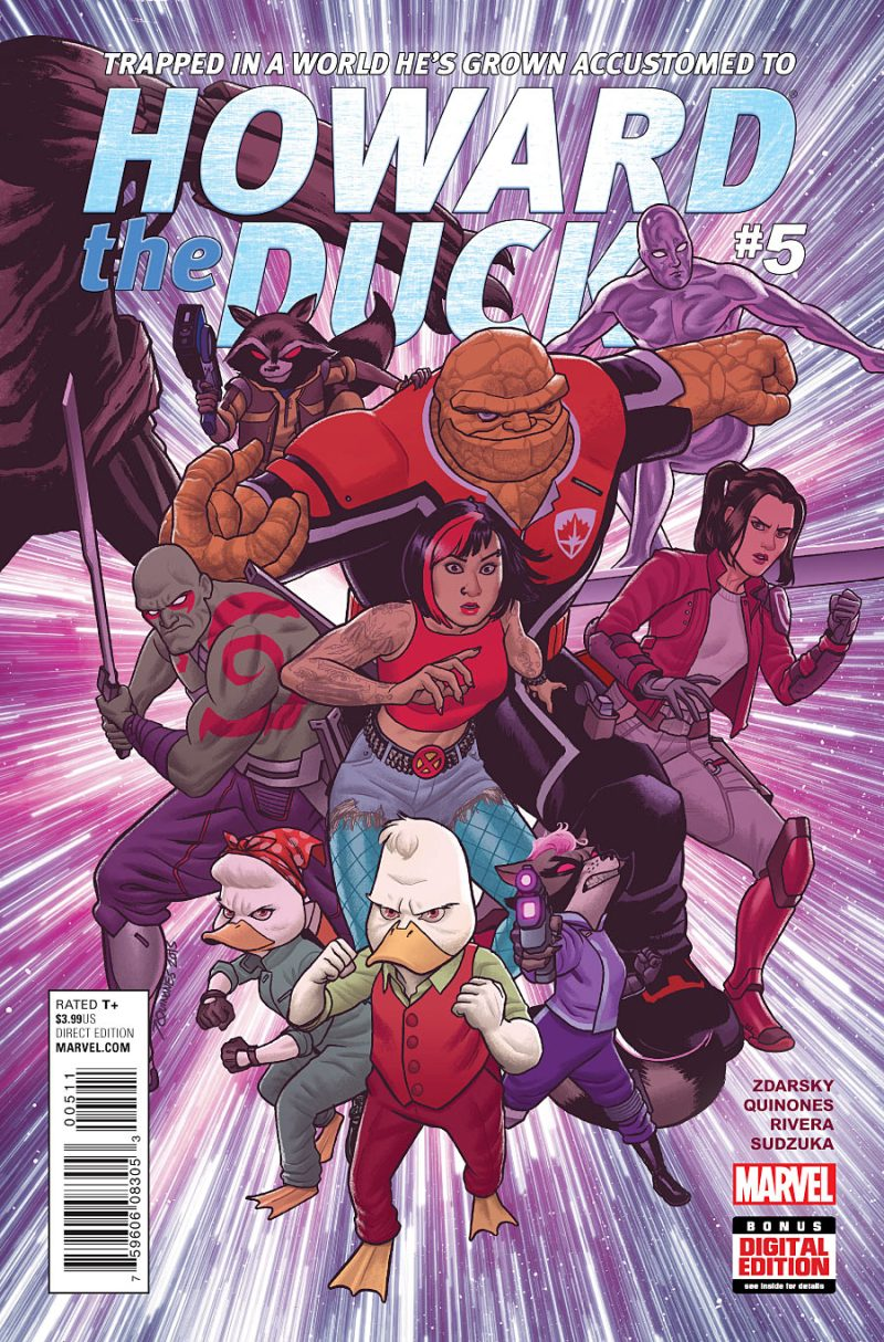 Howard the Duck #5 Cover