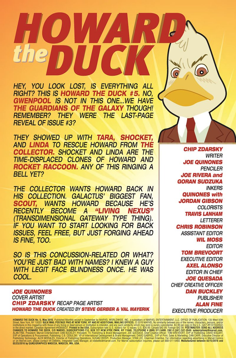 Howard the Duck #5 page 1