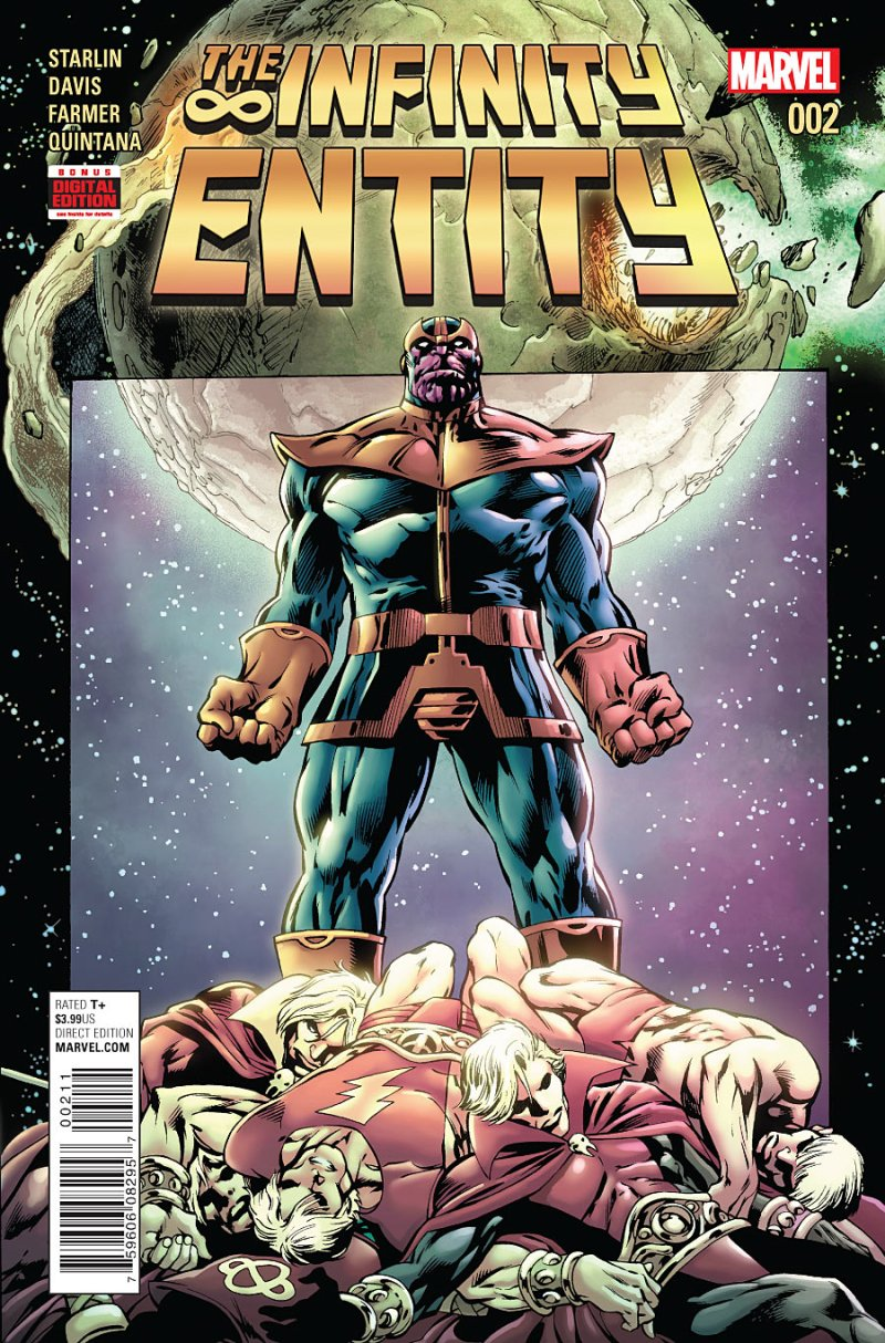 Infinity Entity Cover #2