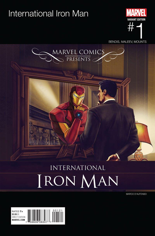 Internationa Iron man #1 Cover 2
