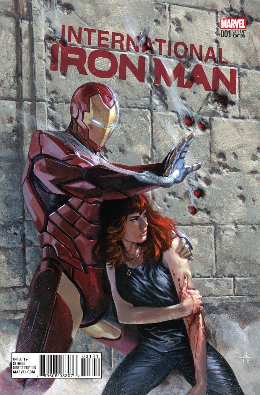 Internationa Iron man #1 Cover 3