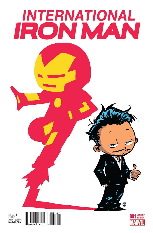 Internationa Iron man #1 Cover 4