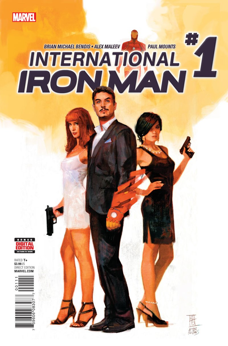 Internationa Iron man #1 Cover