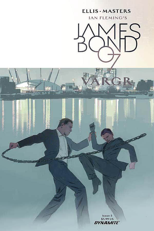 James Bond #5 Cover