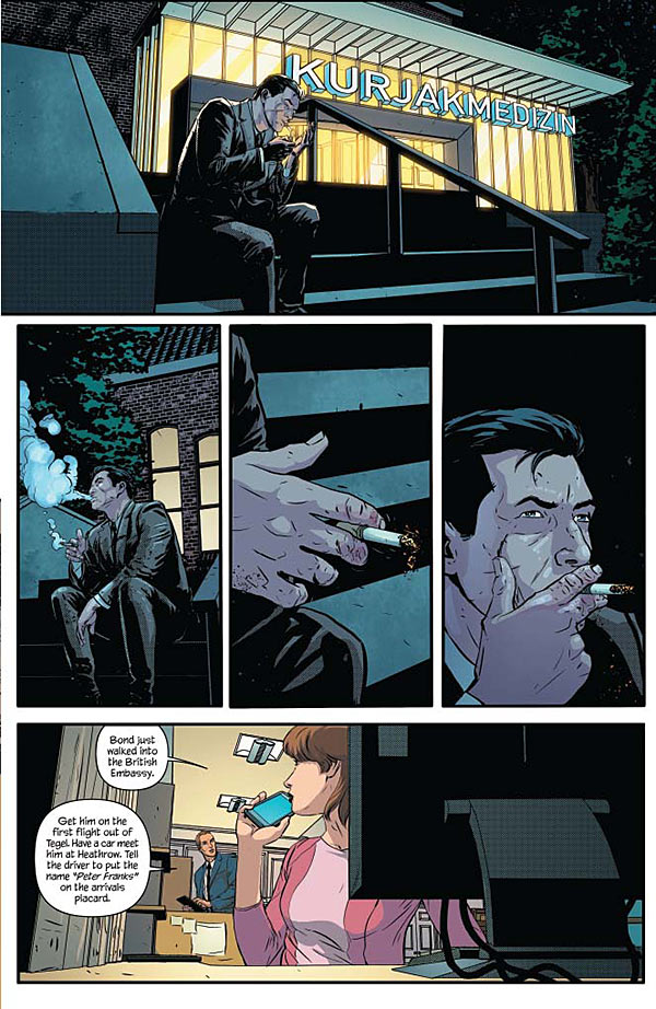 James Bond #5 page 5