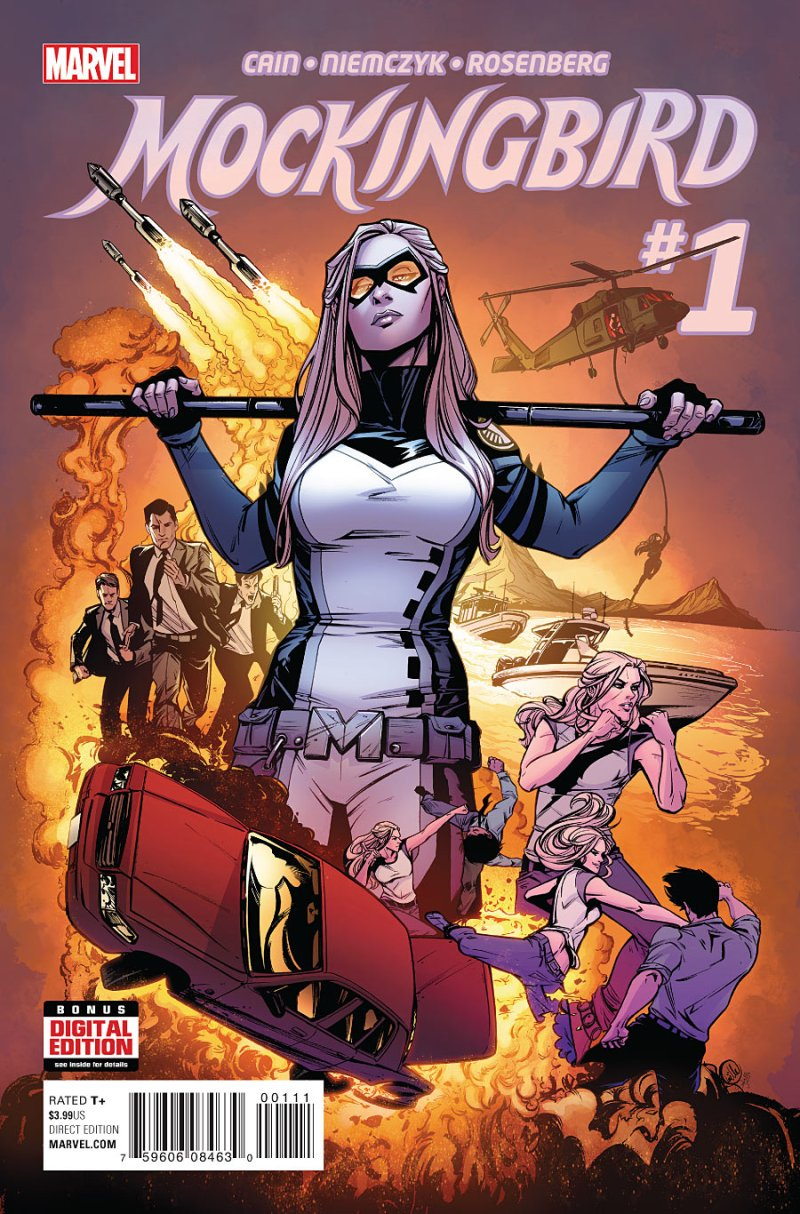 Mockingbird #1 Cover