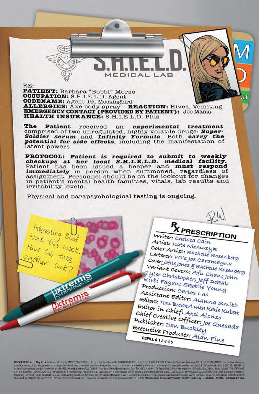 Mockingbird #1 page 3