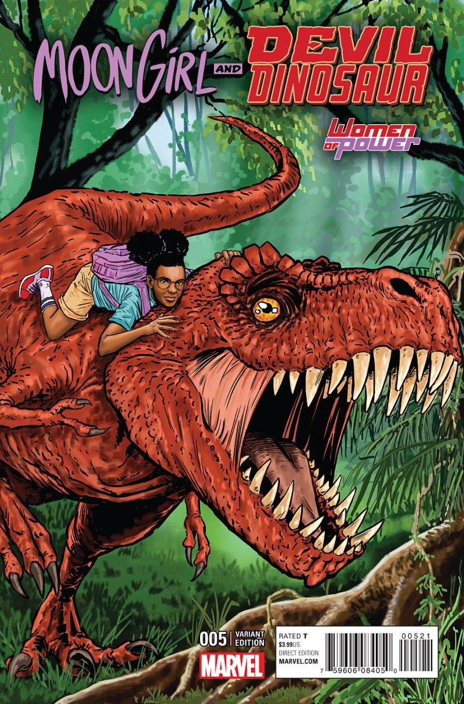 Mood Girl and Devil Dinosaur #5 Cover 2