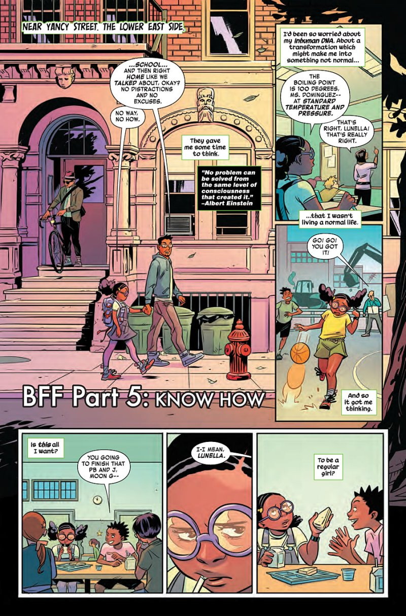 Mood Girl and Devil Dinosaur #5 page 2