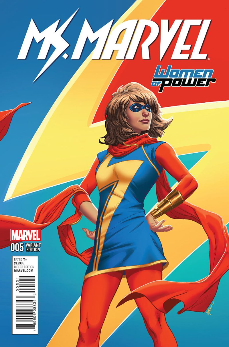 Ms Marvel #5 Cover 2