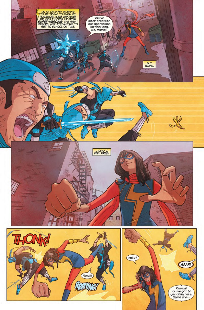 Ms Marvel #5 Page 2