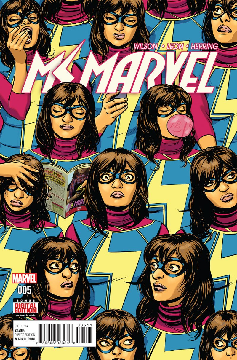 Ms Marvel Cover #5