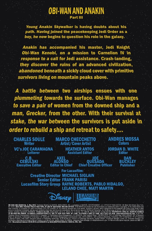 Obi-Wan Anakin #3 page 1