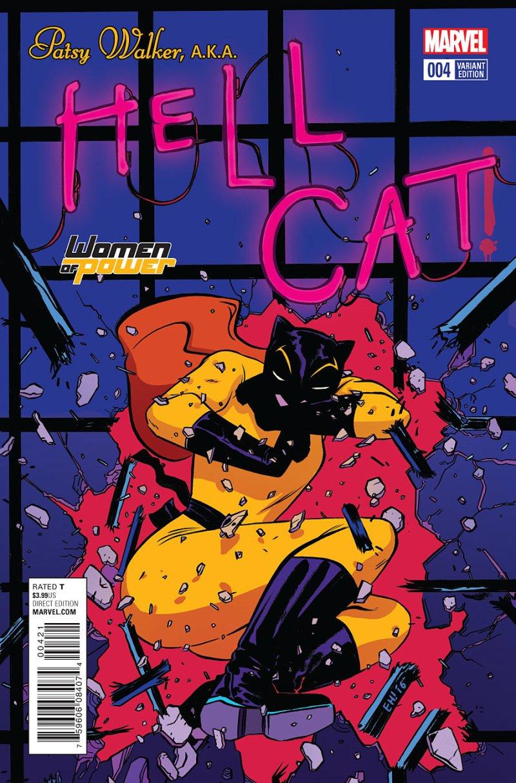 Patsy Walker, AKA Hellcat #4 Cover 2