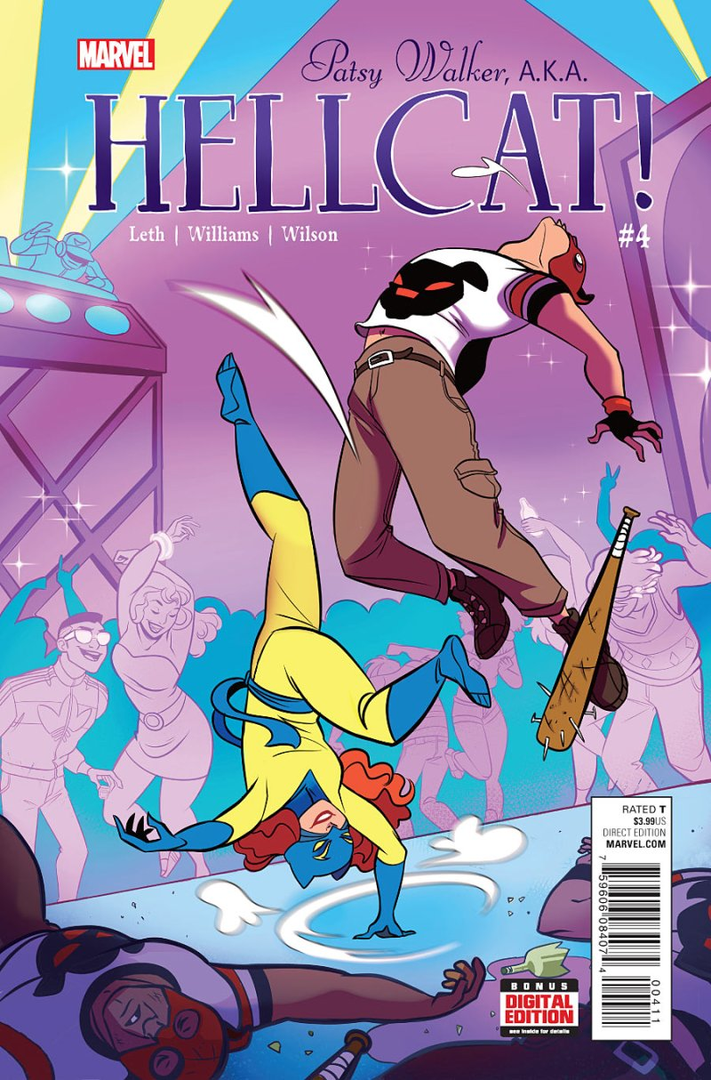 Patsy Walker, AKA Hellcat #4 Cover