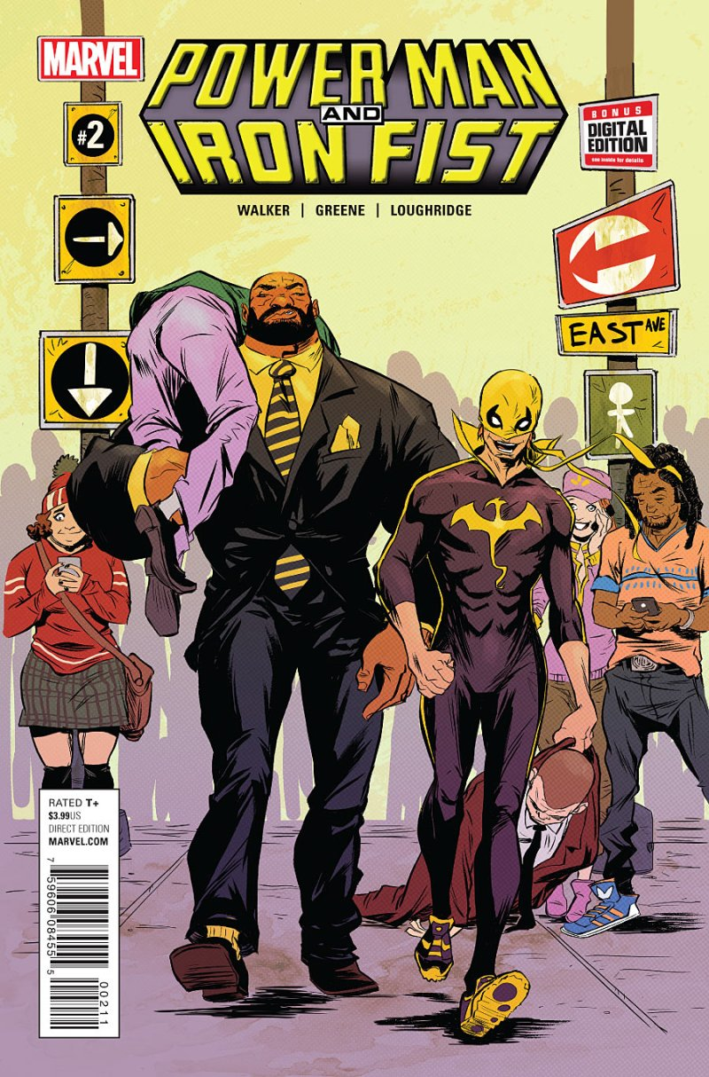 Power Man and Iron First #2 Cover