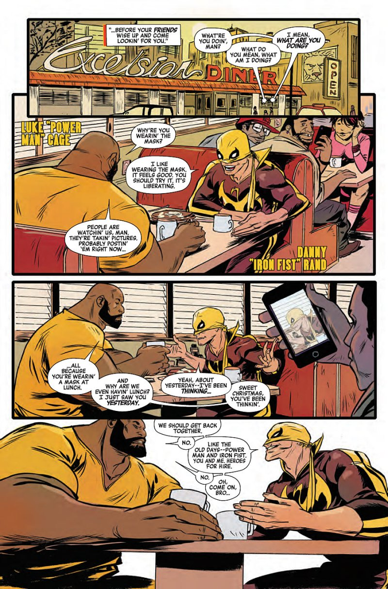 Power Man and Iron First #2 page 4