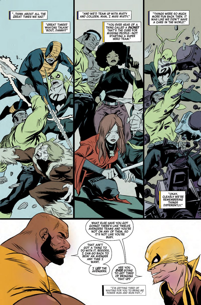 Power Man and Iron First #2 page 5