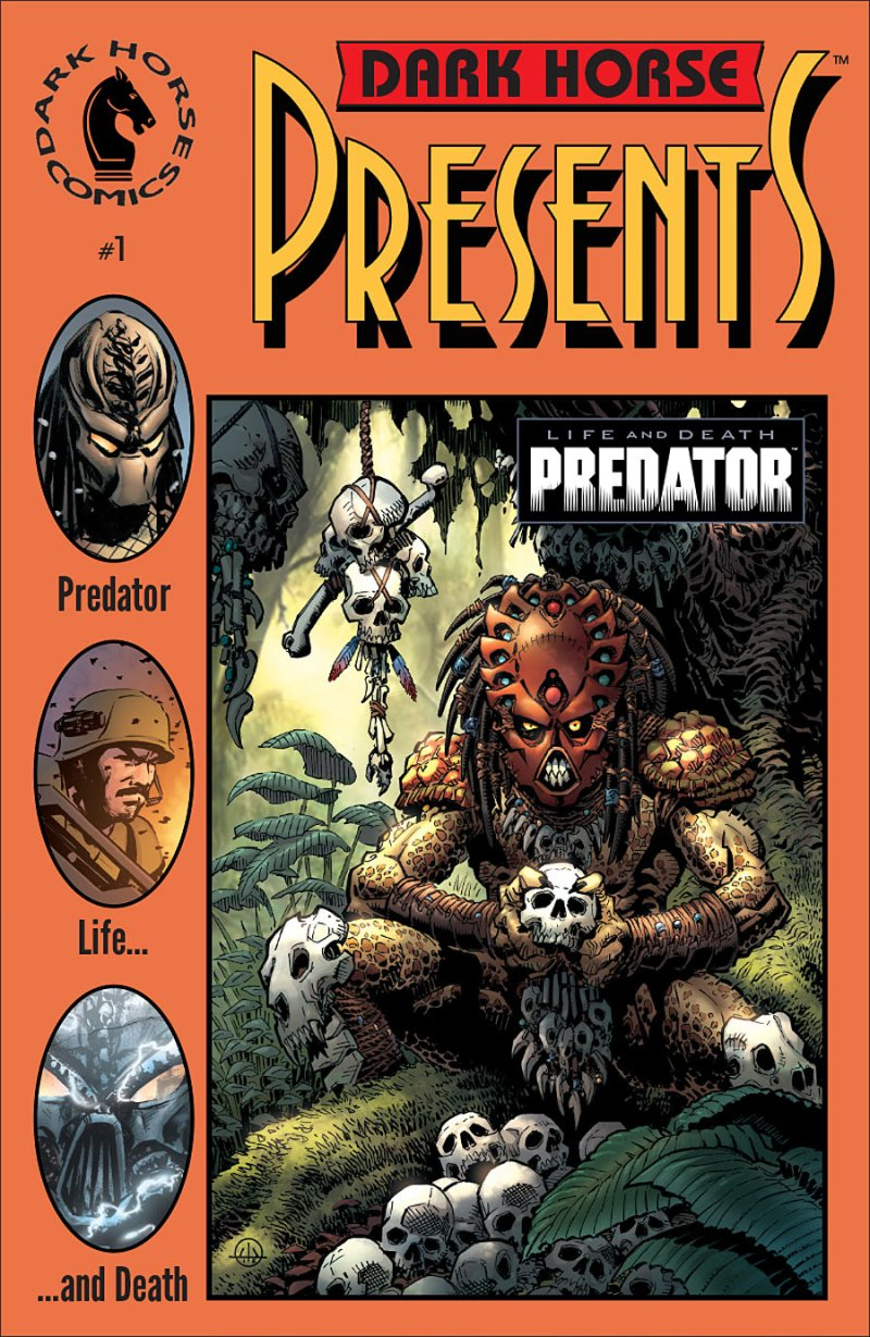 Predator- Life and Death #1 Cover 2