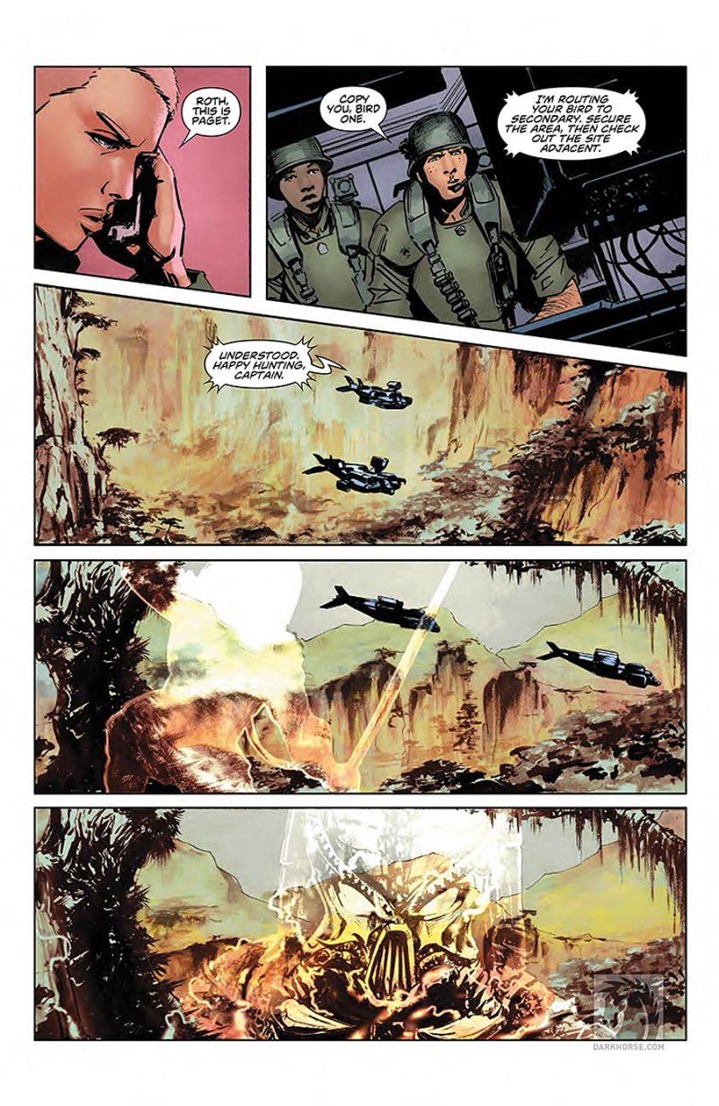 Predator- Life and Death #1 page 2