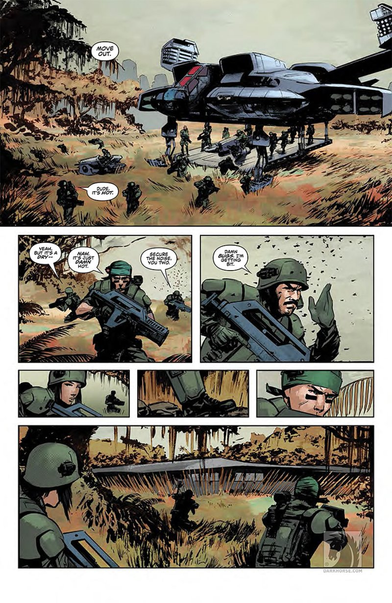 Predator- Life and Death #1 page 3