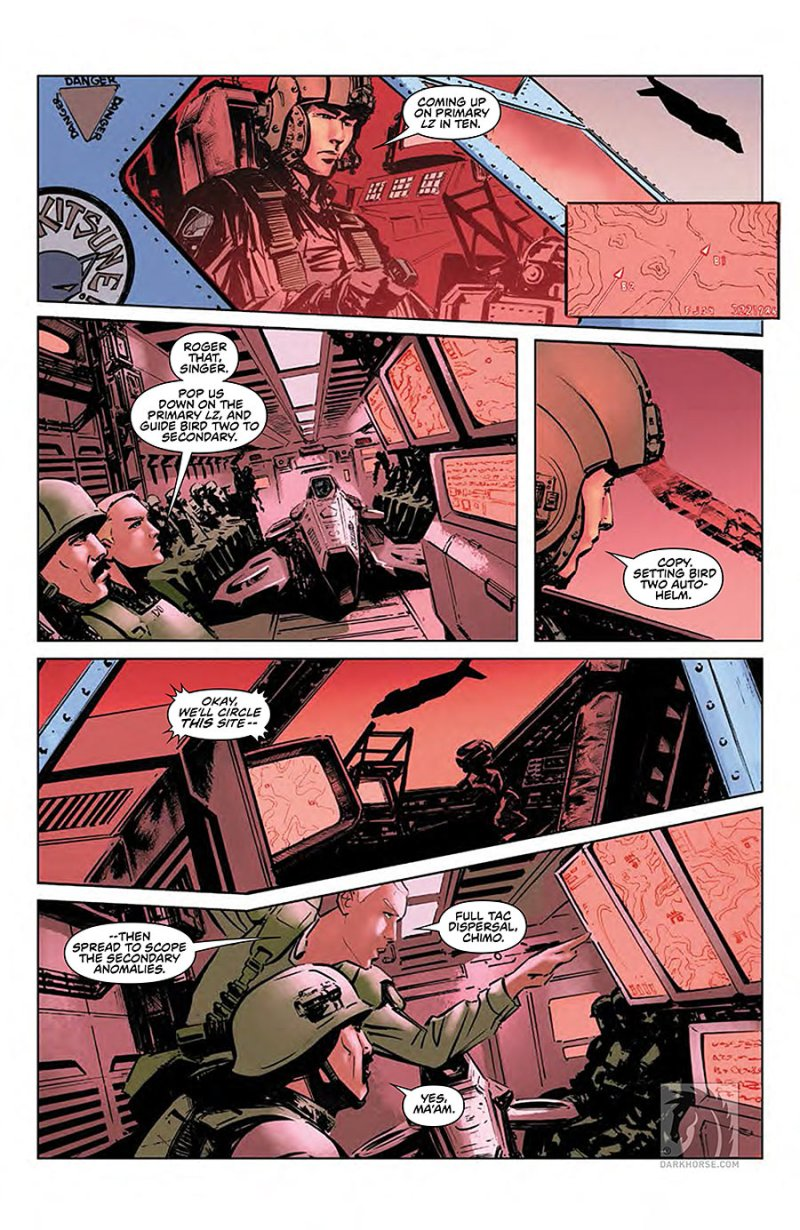 Predator- Life and Death #1 page 5