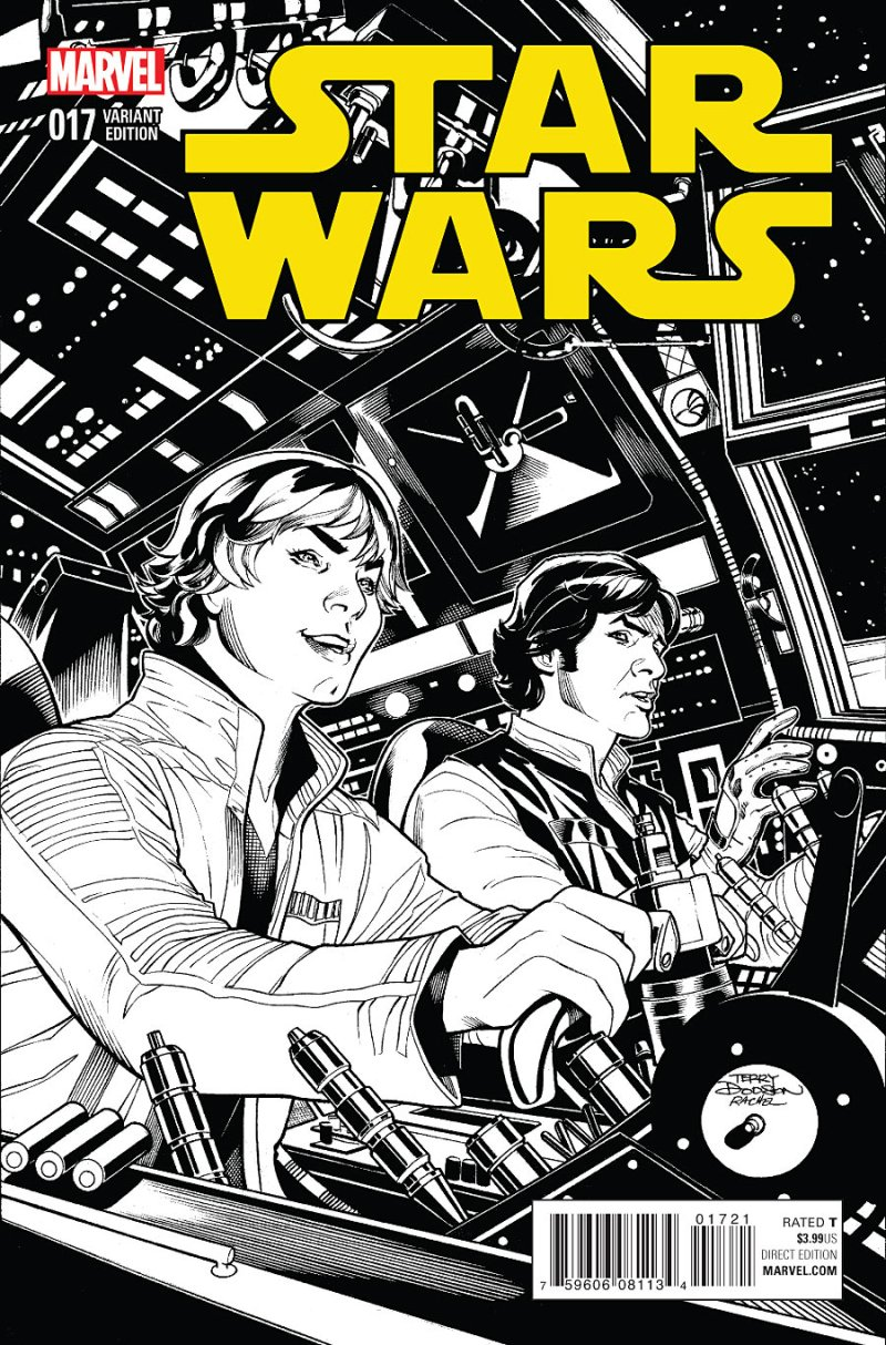 Star Wars #17 Cover 2
