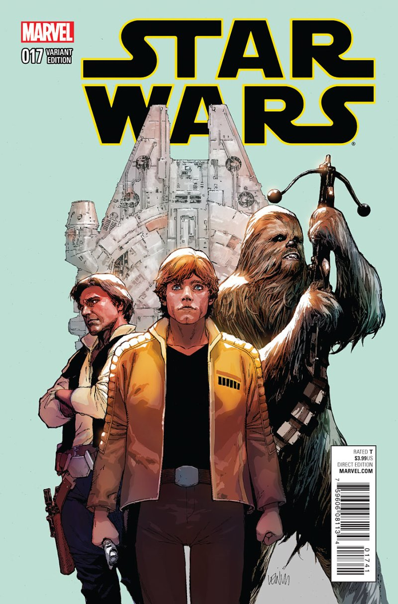 Star Wars #17 Cover 3