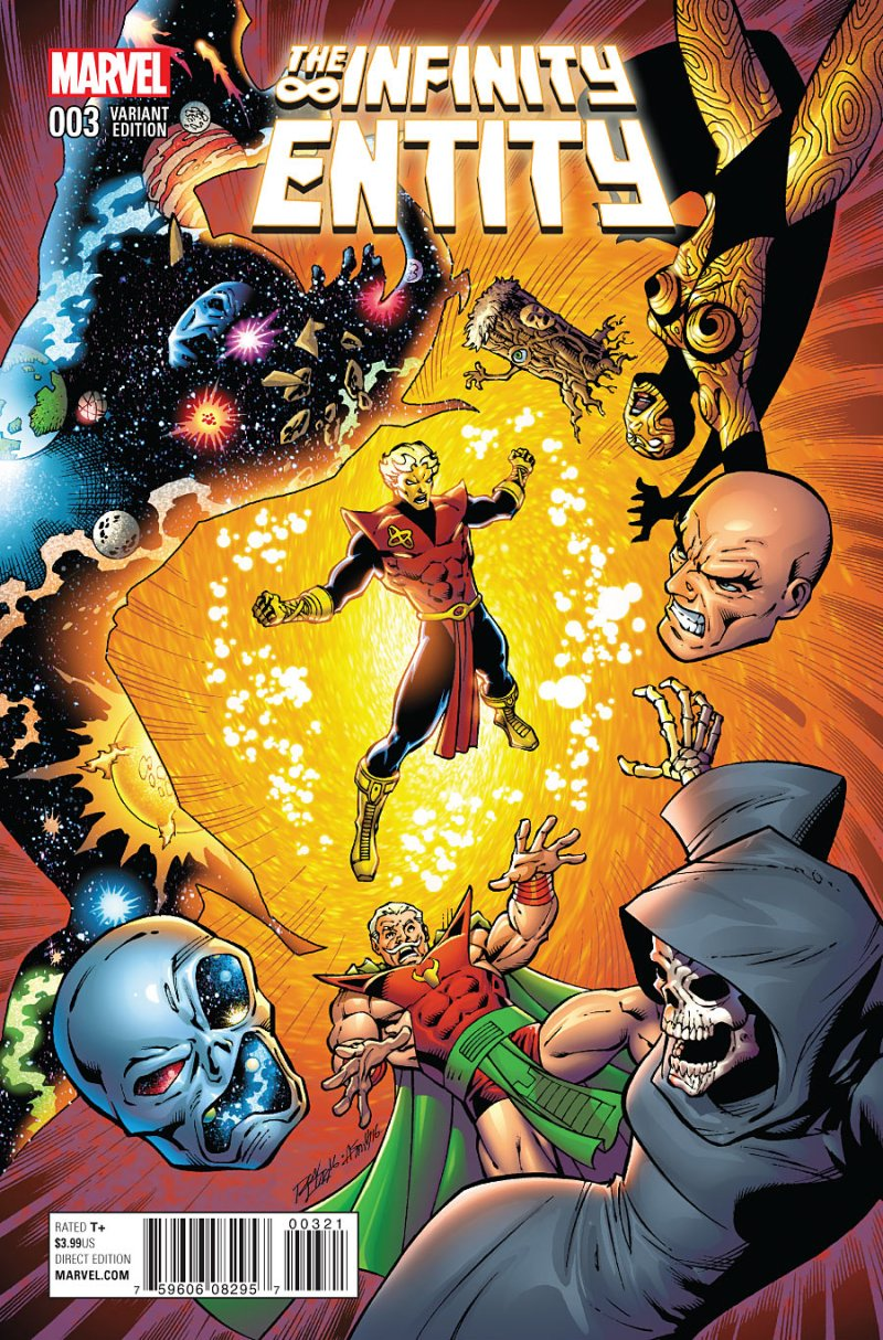 The Infintity Entity #3 Cover 2