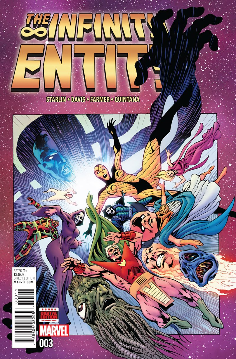 The Infintity Entity #3 Cover