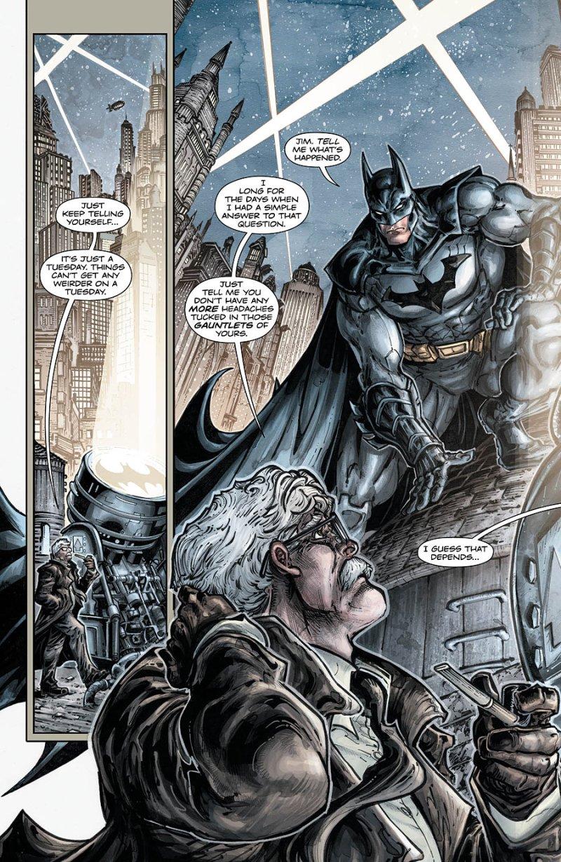 Batman Teenage Mutant Ninja Turtles #5 Page 1