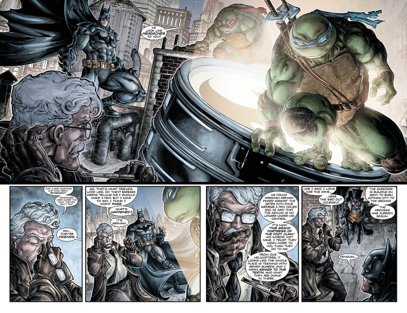 Batman Teenage Mutant Ninja Turtles #5 Page 2
