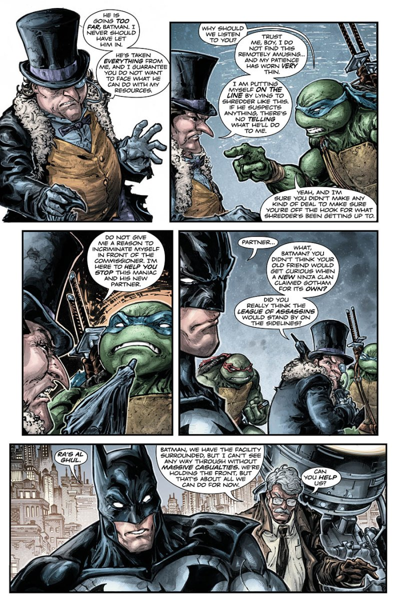 Batman Teenage Mutant Ninja Turtles #5 Page 3