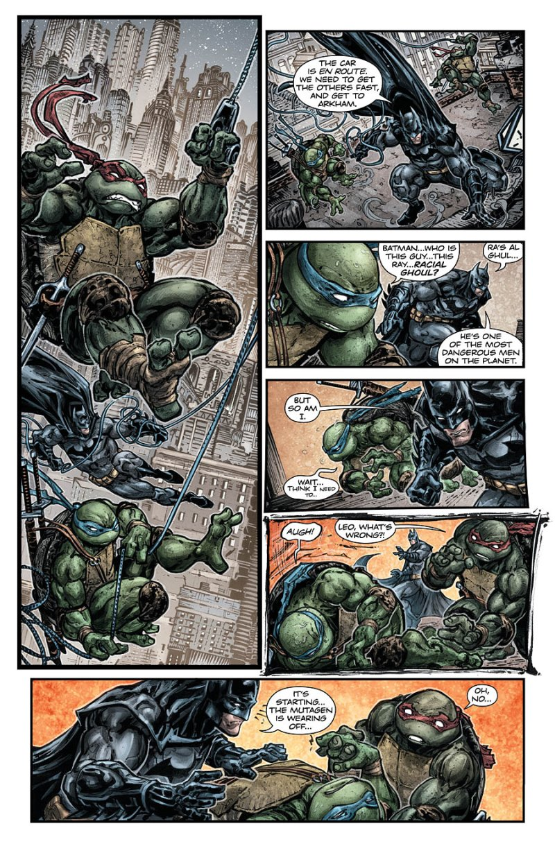 Batman Teenage Mutant Ninja Turtles #5 Page 4