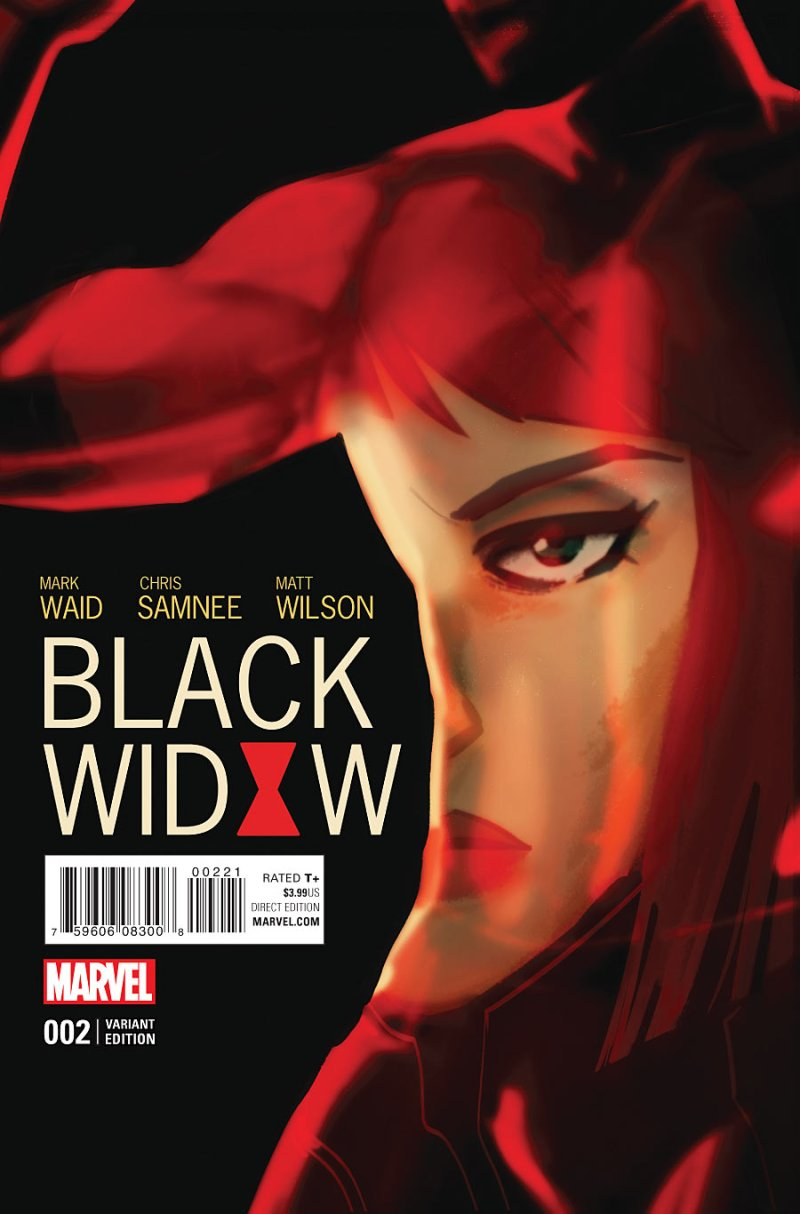 Black Widow #2 Cover 2