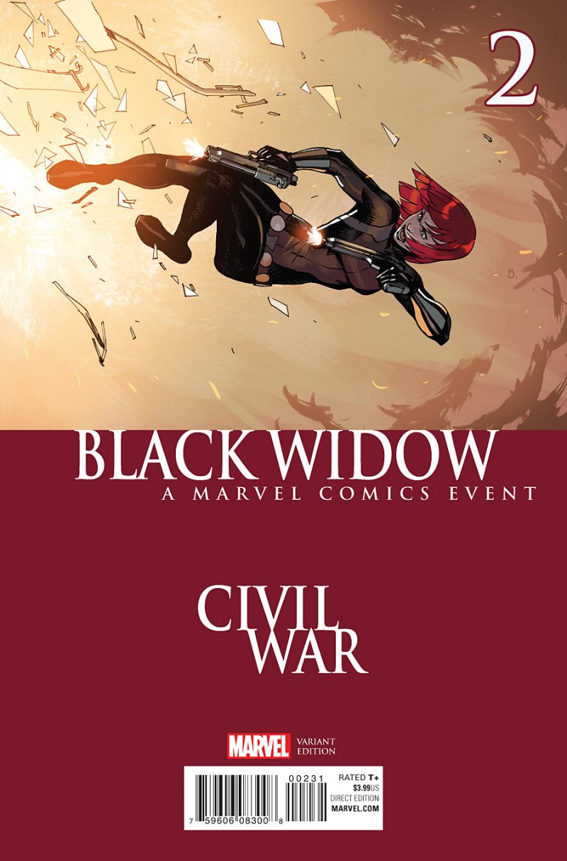 Black Widow #2 Cover 3