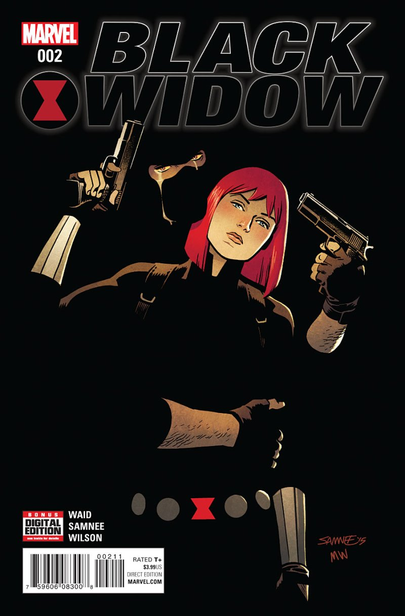 Black Widow #2 Cover