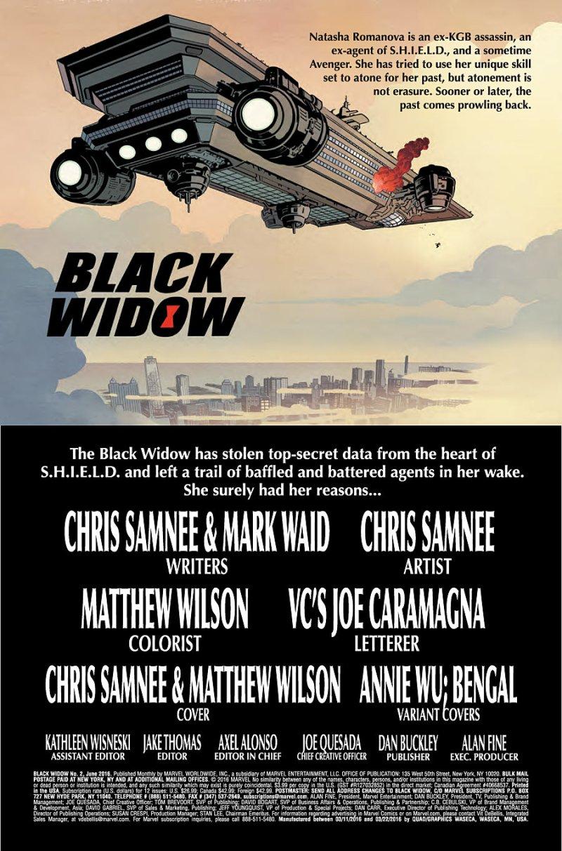 Black Widow #2 Page 1