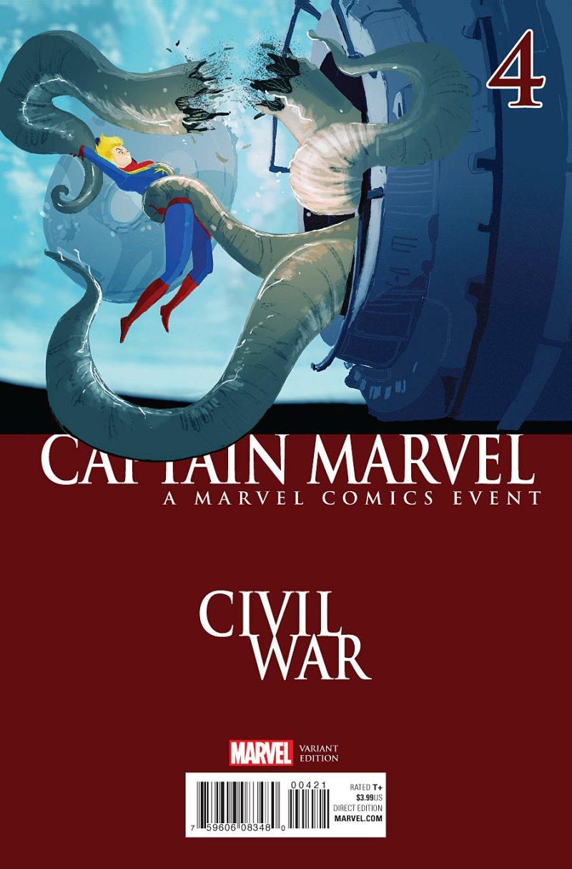 Captain Marvel #4 Cover 2