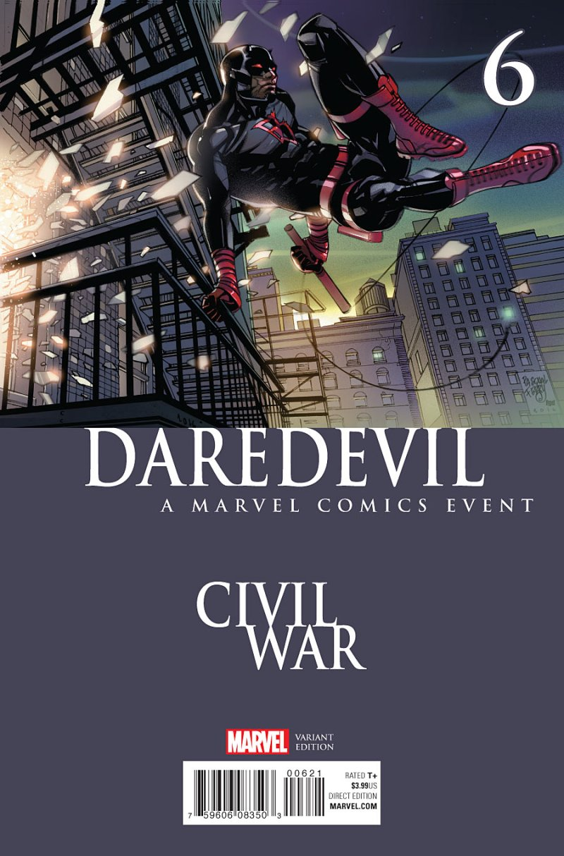 Daredevil #6 Cover 2