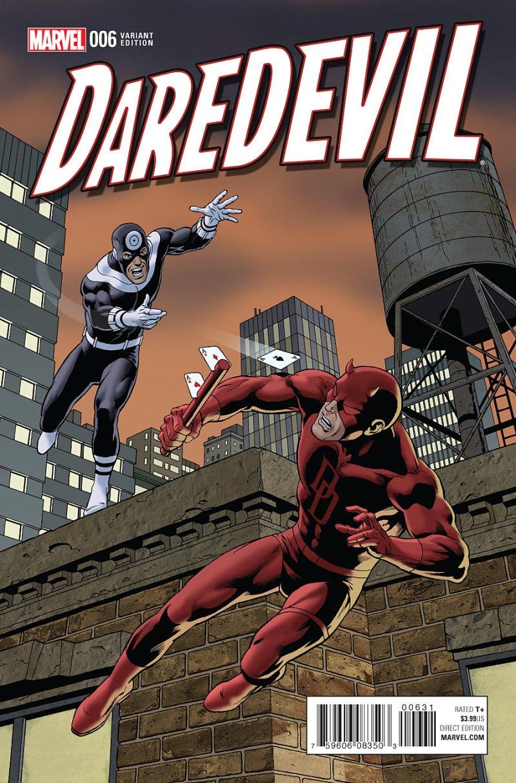 Daredevil #6 Cover 3