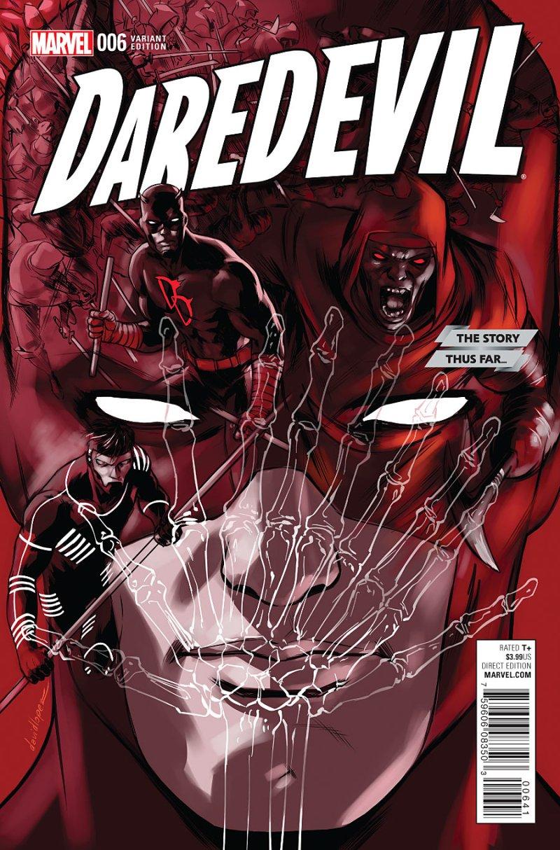 Daredevil #6 Cover 4